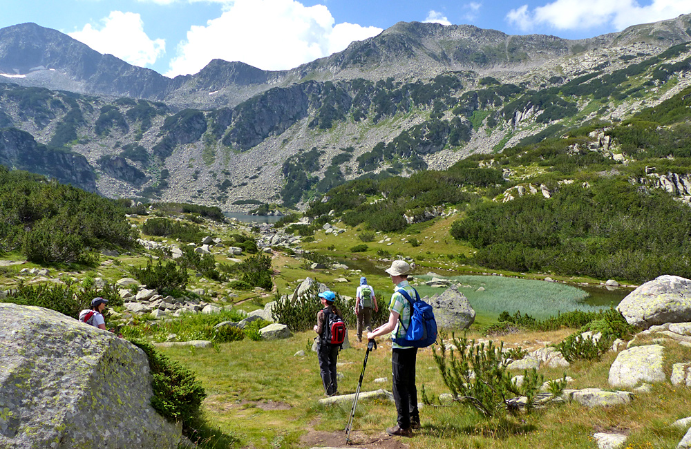 pirin mountains guided trekking trips