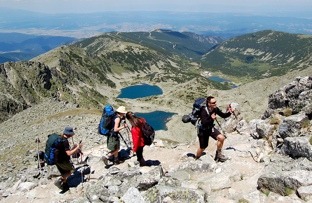guided and self-guided hiking and trekking tours in rila mountains, bulgaria