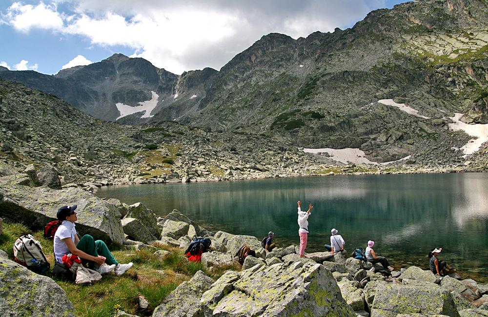 climbing mount musala in rila mountains hiking tour