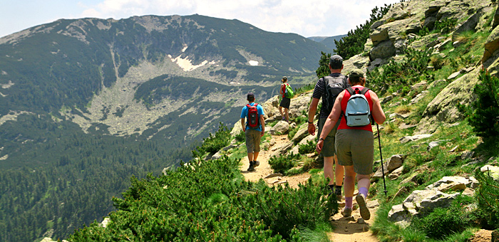 guided walking, hiking and trekking tours in the pirin mountains, bulgaria