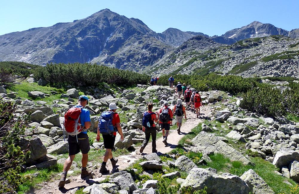climbing musala; guided hiking tour in rila mountains