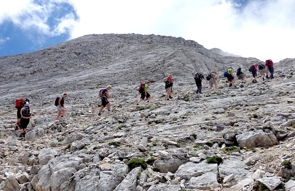pirin mountains guided walking and hiking treks
