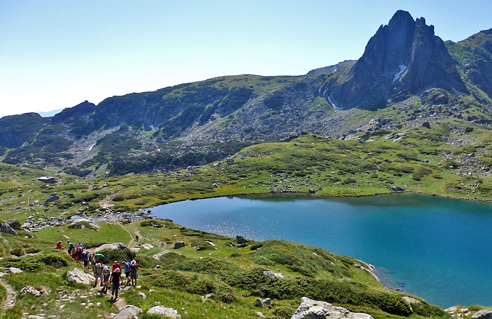 the seven rila lakes trekking and walking trip