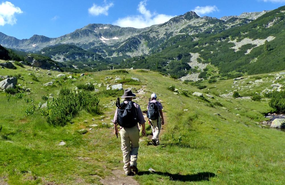 hiking, walking and rambling tours in pirin mountains, bulgaria
