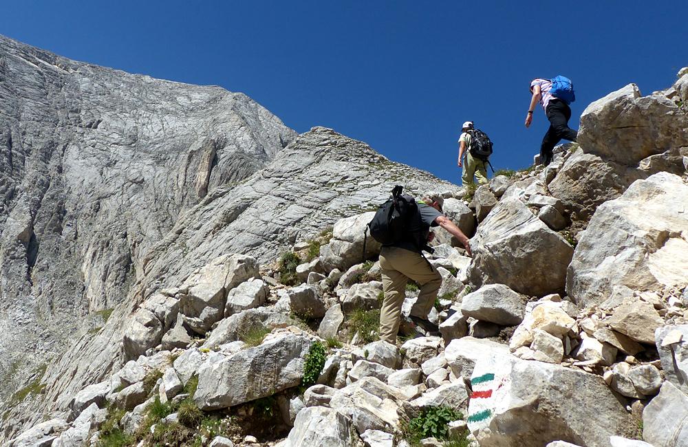 climbing tour to mt. vihren in pirin mountains, bulgaria