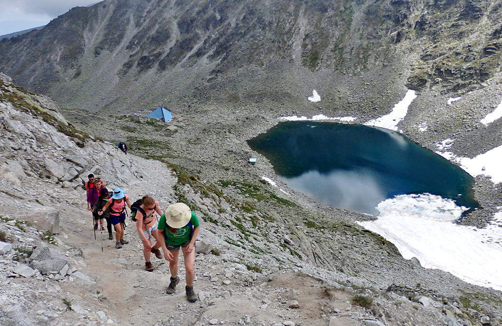 climbing mount musala hiking tour in rila mountains, bulgaria
