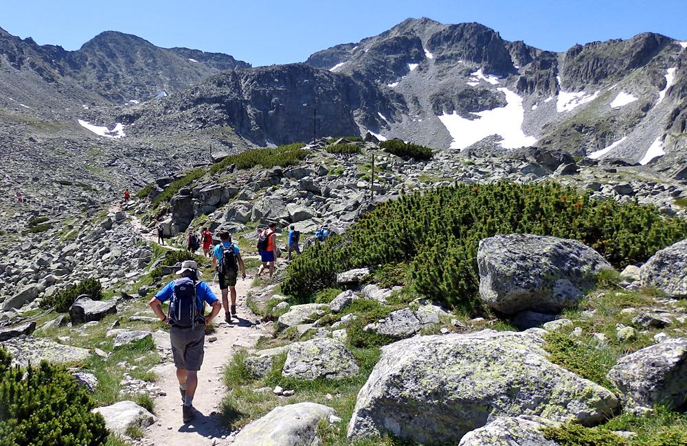 self-guided hiking and trekking tours in rila mountains, bulgaria