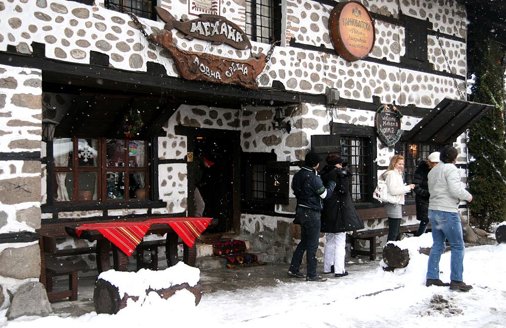 bulgaria snowshoeing treks