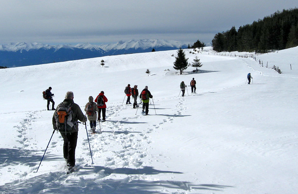 snowshoeing trips and holidays, bulgaria