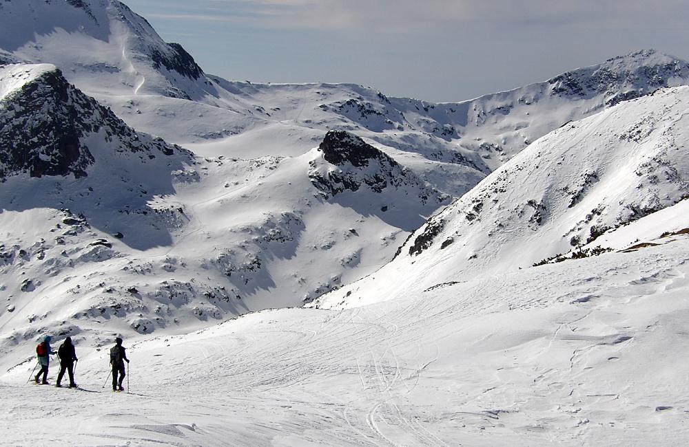 snowshoeing trek bulgaria