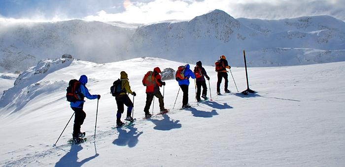 snowshoeing and winter trekking tour in bulgaria, rila and pirin mountains