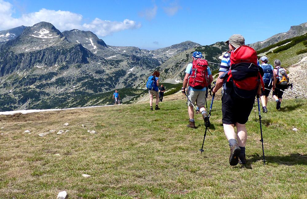 pirin mountains escorted hiking tours, bulgaria