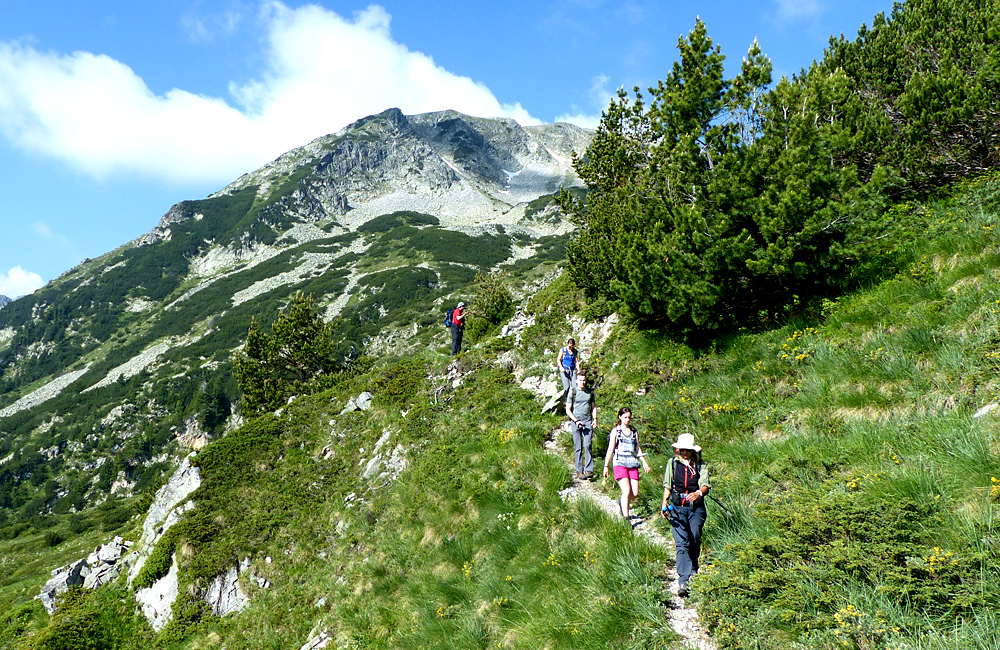 guided ad self-guided hiking tours in pirin mountains, bulgaria