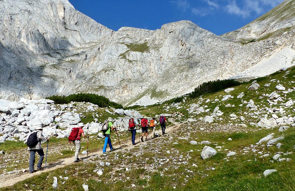 escorted trekking tour in bulgaria, climbing mt. vihren and mt. musala