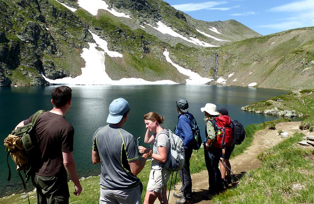 rila mountains walking and hiking tours; the seven rila lakes