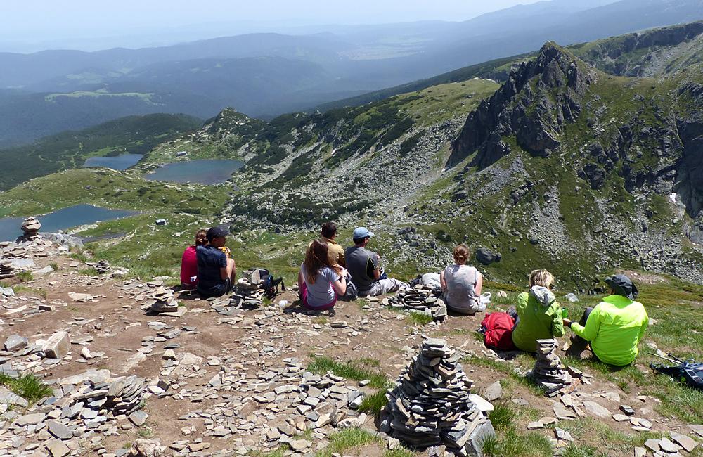the seven rila lakes guided hiking tour in rila mountains