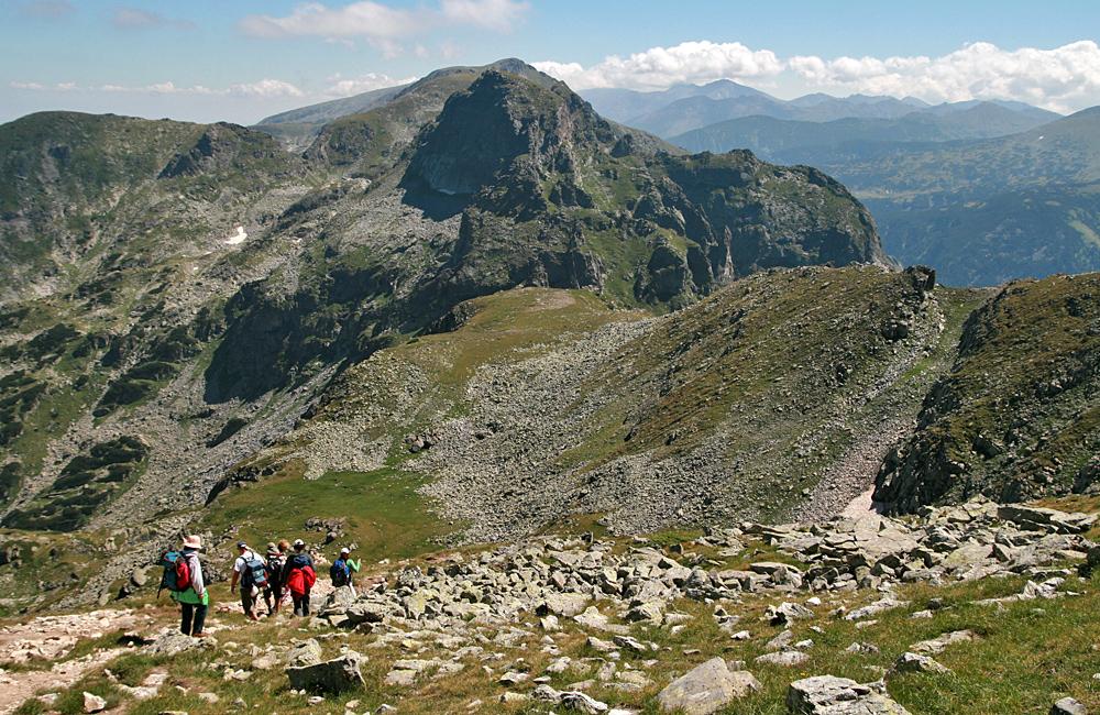 climbing malyovitsa summit, rila mountains