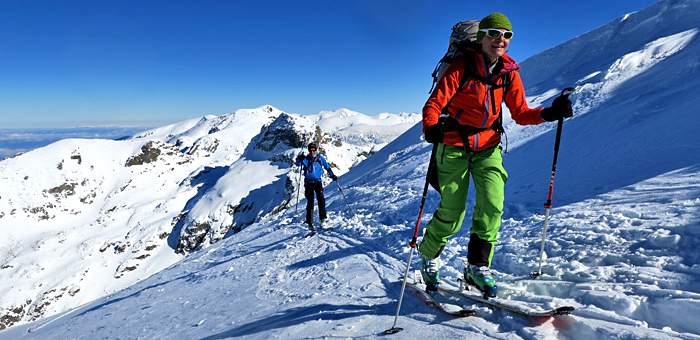 ski touring and back country skiing in bulgaria